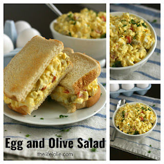 Egg And Olive Recipes