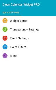 Clean Calendar Widget Pro Screenshot 11