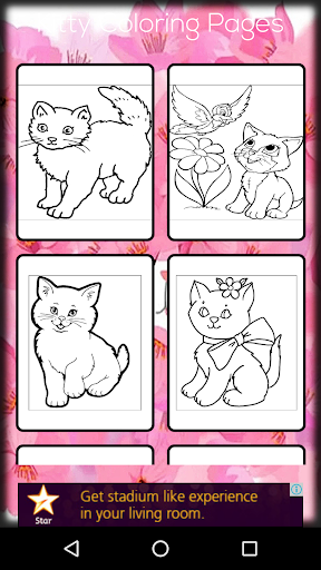 Kitty Coloring Games