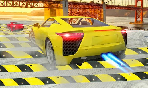 Download 100 Speed Bump Crash Car Driving For PC Windows and Mac apk screenshot 1
