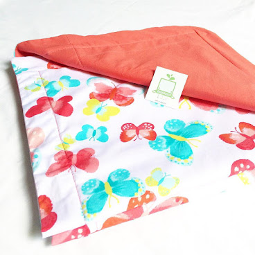 Baby Blanket - Pink Butterfly