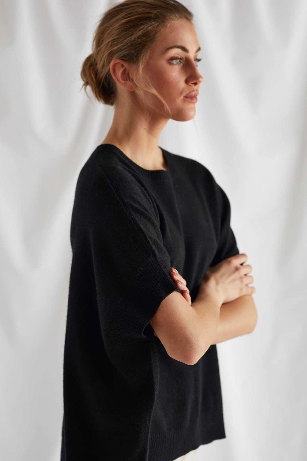 O-neck Poncho Vest