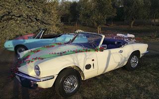 Triumph Spitfire Rent Lazio