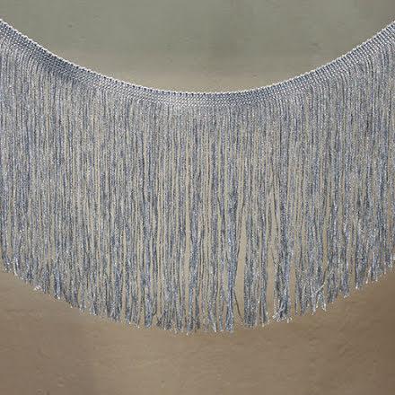 Frans 20cm - silverblå
