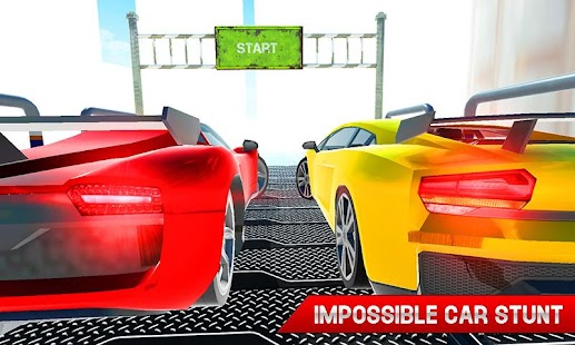 Real Pro Racing Car Stunts on Impossible Tracks 3D - náhled