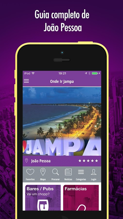 Onde Ir Jampa- screenshot