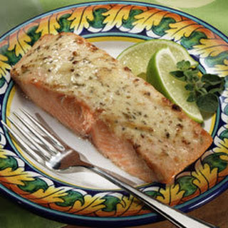 Magically Moist Adobo Salmon.