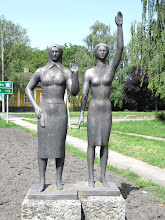 Photo: Day 74 - Interesting Statue!