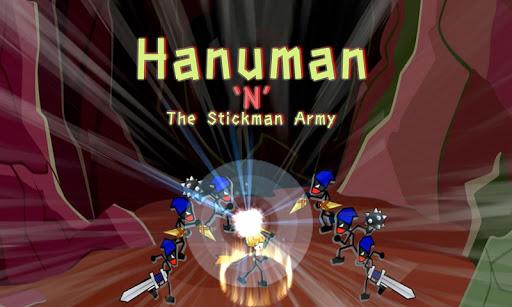 Hanuman And The Stickman Army