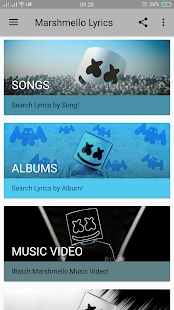 Download Marshmello Lyrics For PC Windows and Mac apk screenshot 2