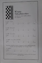 Photo: Uhlig catalogue c1913, p.15  Folding chess boards with boxes for the pieces