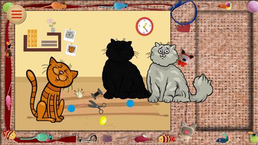 ベビーパズル面白い猫