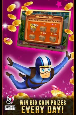 Sky Diving Slots - screenshot