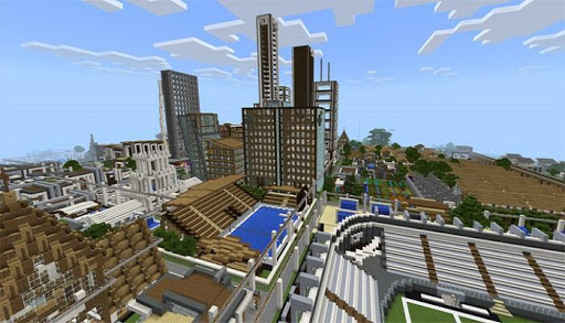 Download Epican Republic Minecraft City Map MCPE on PC & Mac ...