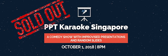 PowerPoint Karaoke - Comedy Show with Improvised Presentations and Random Slides