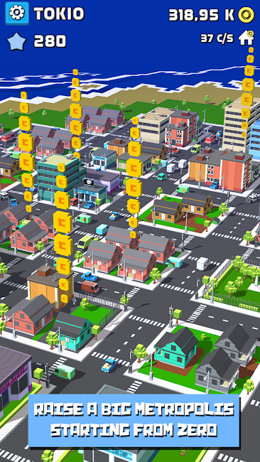 #3. Tap City: Building clicker (Android)