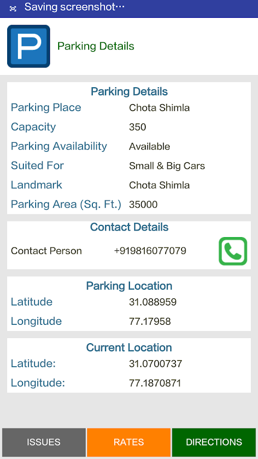 Himachal Parking- screenshot