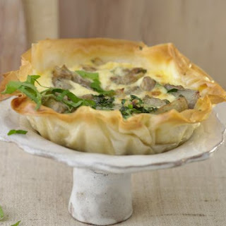 Phyllo Pastry Vegetable Tart