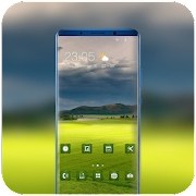 Nature Green Grass Theme for Nokia X6 wallpaper icon