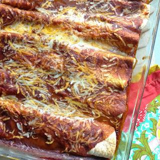 All Natural Chicken Enchiladas