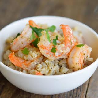 Low Carb Cauli-Rice & Shrimp.