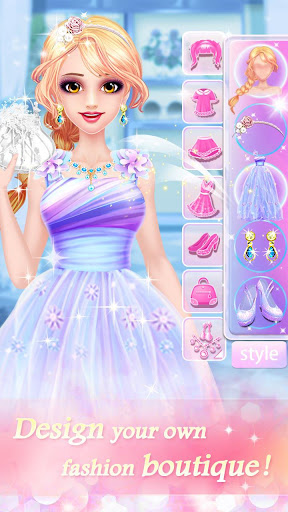 Fashion Shop - Girl Dress Up apkpoly screenshots 17