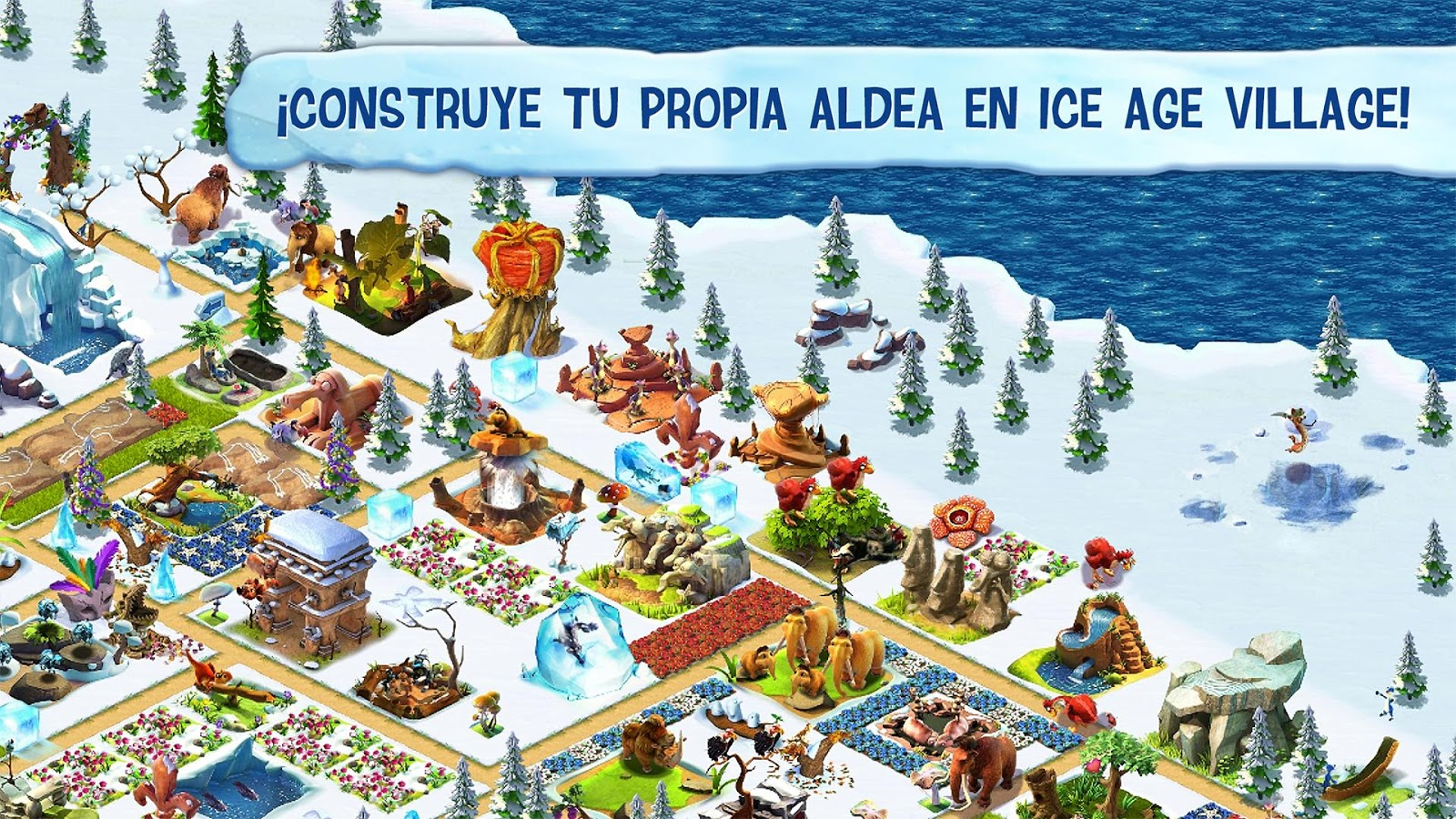 Ice Age Village: captura de pantalla