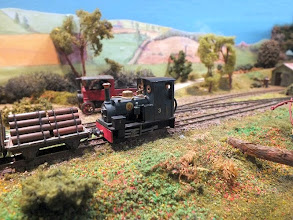 Photo: 024 I'm confident that under this distinctive loco lurks a Quarry Hunslet, but the extra detailing and tweaking has quite successfully created a very individual engine. The certainty is that it is mounted onto an Ibertren 0-4-0 chassis! .