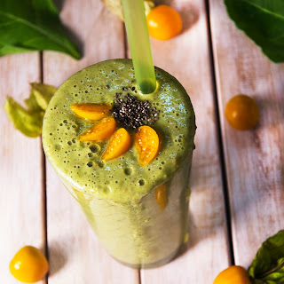 Cape Gooseberry Detox Green Smoothie Recipe