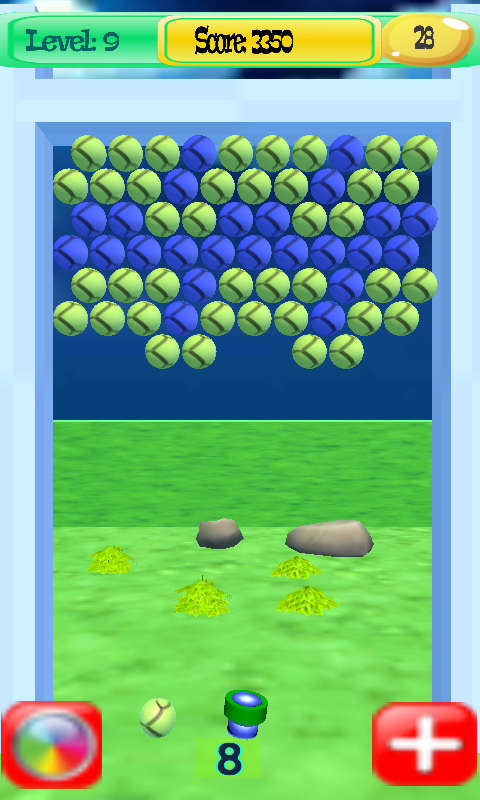 Bubble Shooter 3D- screenshot