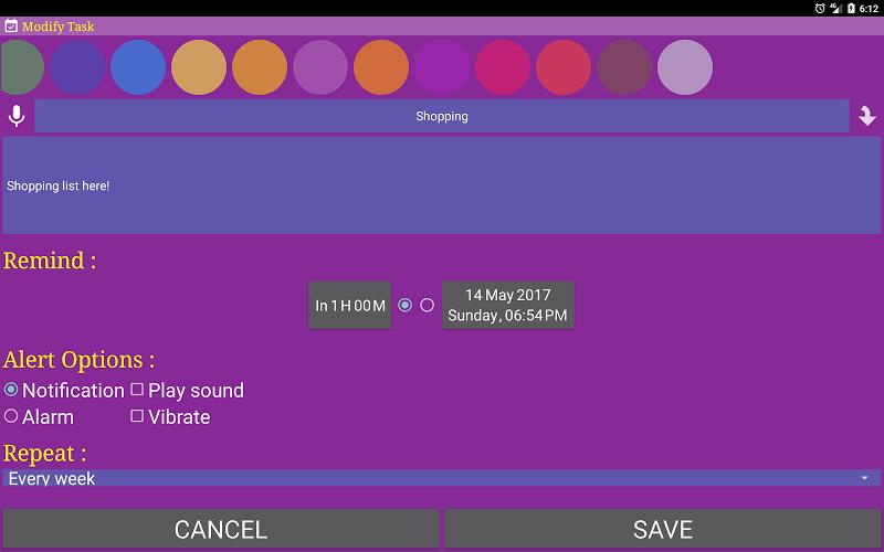 Alarm Clock & Timer & Stopwatch & Tasks & Contacts Screenshot 13