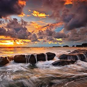 World is ahead by Hendri Suhandi - Landscapes Beaches ( bali, sunset, beach )