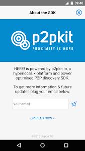 HERE! - P2P People Discovery screenshot 1