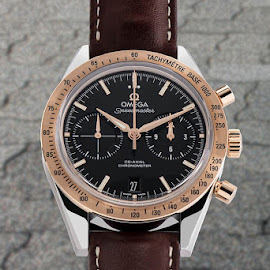 Omega watch by Burdell Edwin - Artistic Objects Jewelry ( citizen, clock, longines, omega, leather, stone, chronograph, gold, watch, road, rolex, speedmaster, wrist watch, self winding, band )
