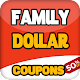 Smart coupons for Family Dollar store