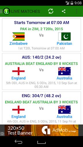 CricInstant Cricket Scores  4