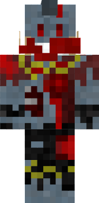 Based off my skin in minecraft but in zombie form if you want to see me i'm The_Stinger_0113