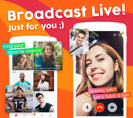 OneLive - 1 on 1 Live Video Chat App 1.27 screenshots 1