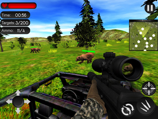 Bear Hunting on Wheels 4x4 - FPS Shooting Game 18 apkmr screenshots 14