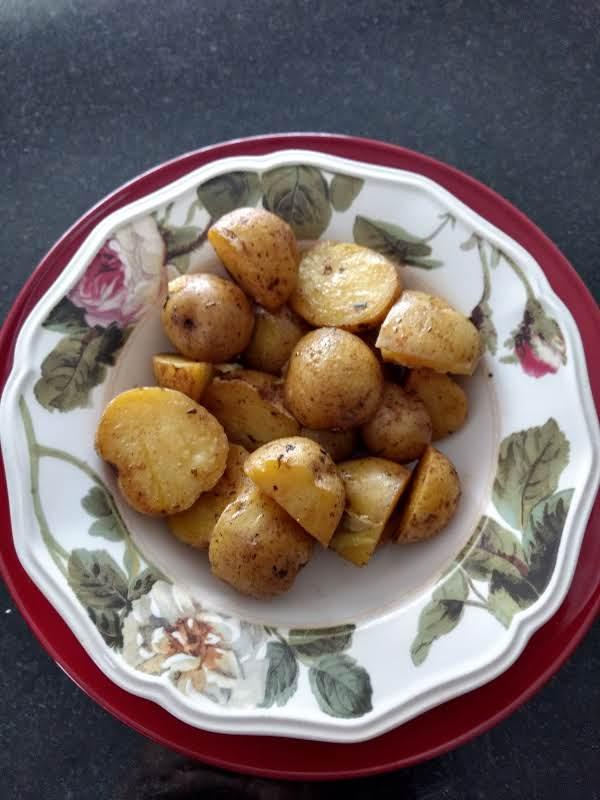 Quick-n-easy Baby Potatoes Recipe