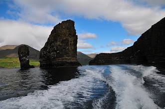 Photo: Faroe Islands on the way to Mykines, Gosholmur