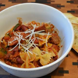 Italian Chili with Napa Valley Homemade Pasta Sauce #FallForFlavor.