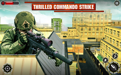 Sniper FPS Fury - Top Real Shooter- Sniper 3d 2018 1.0 screenshots 1