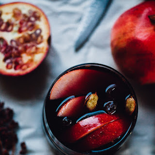 Sanguine Sangria with Apple & Pomegranate