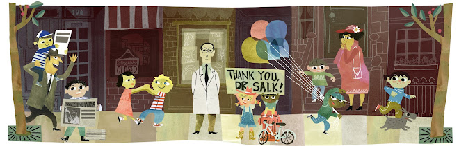 Jonas Salk's 100th Birthday