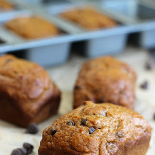 Pumpkin Chocolate Chip Mini Loaves