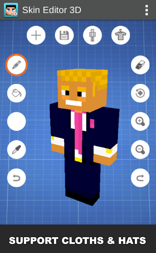 Skin Editor 3D for Minecraft 1.7 Apk for Android 14