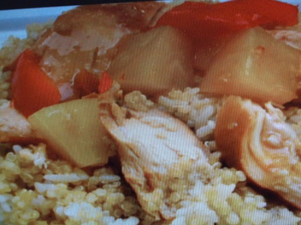 Chicken With Polynesian Vegetables Recipe