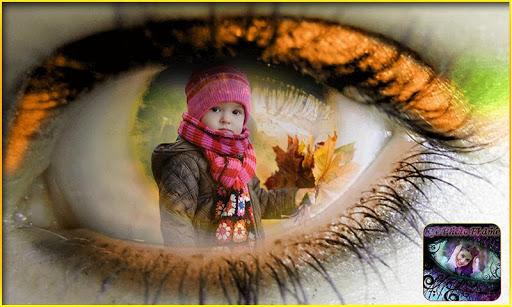 Eye Photo Frame