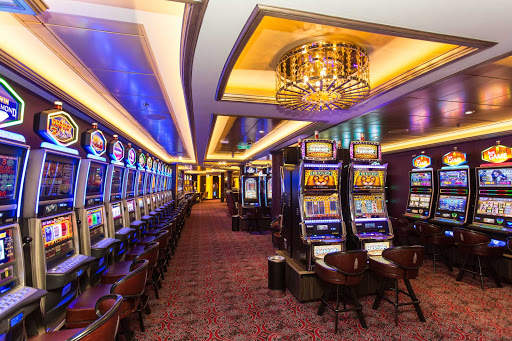 Anthem-of-the-Seas-Casino-Royale - Ready to try your luck? Head to Casino Royale aboard Anthem of the Seas.